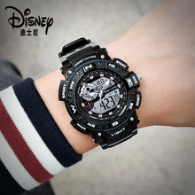 Disney Mickey Mouse Children's Digital Wristwatch Boy Sports Waterproof Men's Watch
