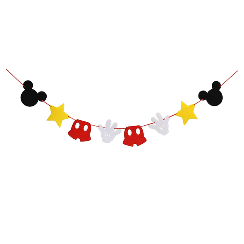 Wondrous Mega Deal F3C54 Mickey Mouse Theme 1St Birthday Decorations Personalised Birthday Cards Petedlily Jamesorg