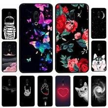 Phone Cases For Meizu 16 Plus Black Soft TPU Fundas 16X 15 Lite M5 M6 Note M6T M3E Meilan 6 E3 S6 5S Silicone Cover