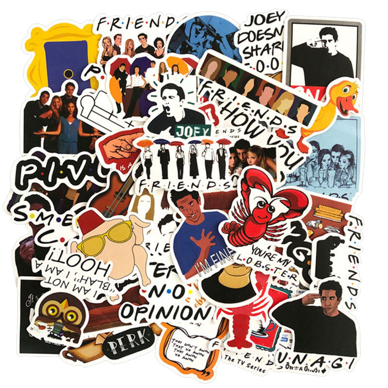 Workplace Comedy TV Show Stickers Set