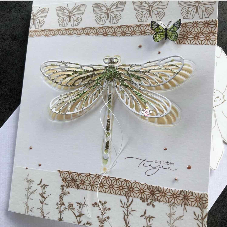 Piggy Ambachtelijke metalen stansmessen cut sterven schimmel 2019 Nieuwe Dragonfly plakboek craft mes schimmel blade punch stencils sterft