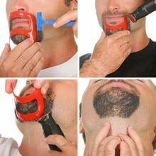 Plantilla moldeadora de barba para hombre, herramienta para el cuidado de la barba