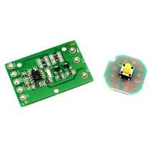 Circuit de commande électrique pour lampe frontale T6, U2, L2, XPL, 18650, 3 ou 5 modes, 1, 2 ou 3 led
