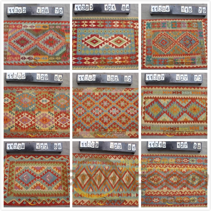 kilim rugs tapestries Fabric Handmade Vintage For Living Room Square Turkish Wool Knitting