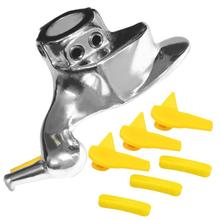 Car Tire Changer Stainless Steel Metal Mount Demount Bird Head Tools Exterior Replacement with Protective Pads Auto Accessories