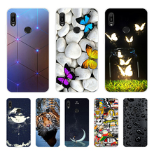 A 6.09'' For Huawei Y6 2019 Case Silicon Soft TPU Phone Case