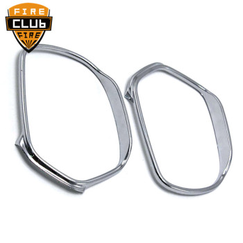 Motorcycle Accessories Chrome Rear View Side Mirrors Trim Decoration Cover For Honda GOLDWING GL1800 2001-2012 motorcycle rear view mirrors w smoke signal lens for honda goldwing gl1800 f6b 2013 2017 16