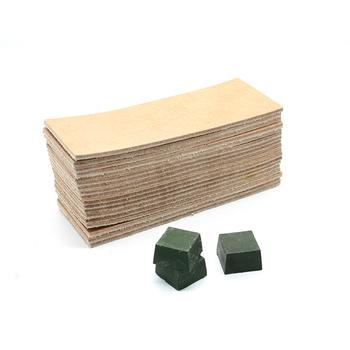 Knifeboard polerowanie ostrzałka kamień 2 boczne skórzane ostrzenie płyta honowanie Strop związek szlifowanie nóż wklej tanie i dobre opinie Ekologiczne Temperówki SHARPENER0086 green orange white Leather Wood