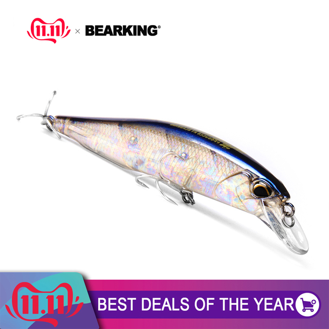 hot model fishing lures 7color for choose quality professional depth0.8-1.5m