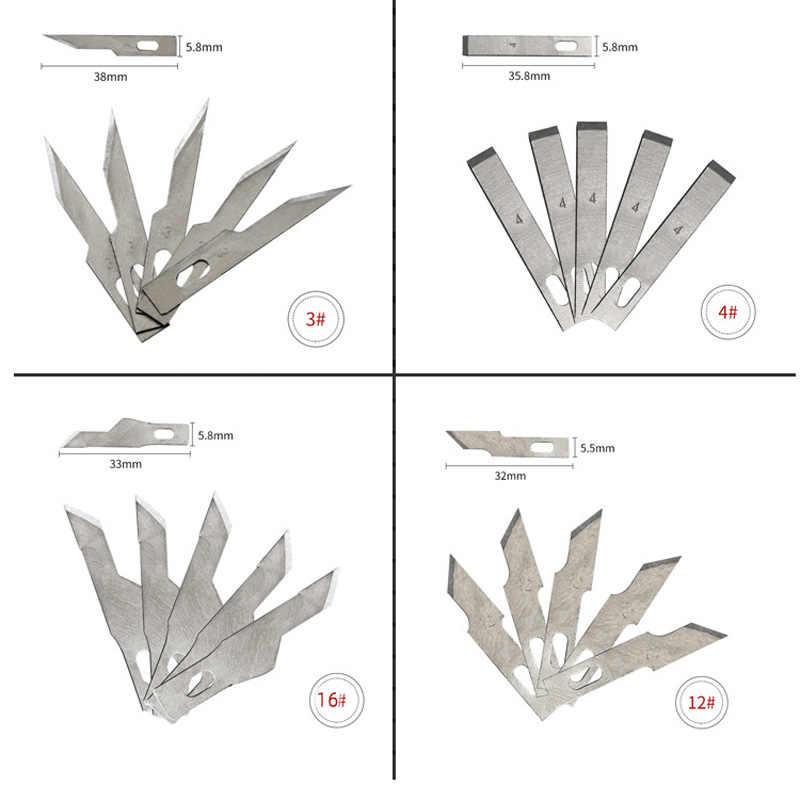 1 piezas antideslizante cuchillas de Metal de madera herramientas fruta comida arte escultura grabado cuchillo para Art suministros