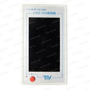 Image 2 - Тестер материнской платы для 6 го ТВ 160, инструменты для Vbyone и LVDS в HDMI конвертер с 7 адаптерами + Подарок, программатор EZP2019