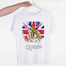 FREDDIE MERCURY Heavy Rock band The Queen T-shirt O-Neck Short Sleeves Summer Casual Fashion Unisex Men And Women Tshirt(China)