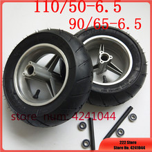 Wheel Tubeless 110/50-6.5 Pocket-Bike Motorcyle Vacuum-Tires 49cc Front with for 47cc