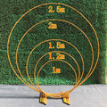 Круг Свадебные Арки Фон полка из кованого железа декоративные реквизиты DIY круглые вечерние фоновая полка цветок с рамкой