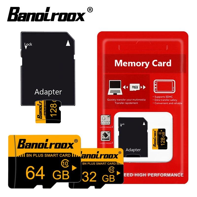 5 unids/lote tarjeta micro sd de Clase 10 de la tarjeta de memoria de 8GB 16GB 32GB 64GB 128GB c10 microsd TF TARJETA de cartao de memoria de pasar h2testw