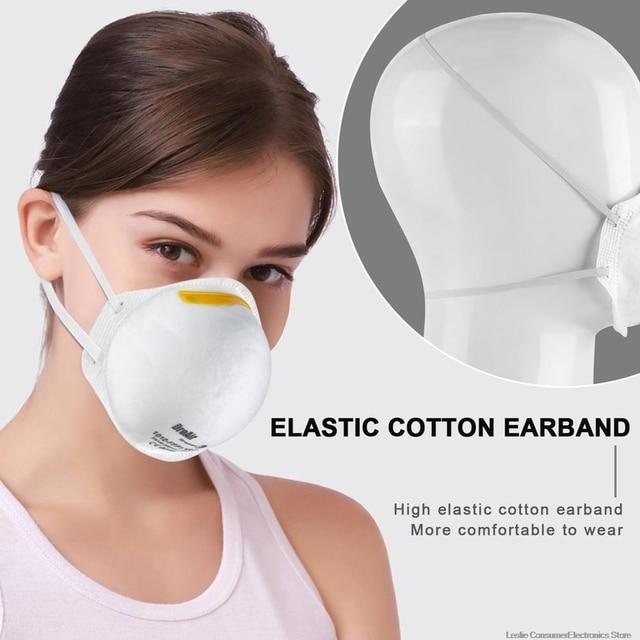 9pcs FFP1 MASK ,anti dust protective mask, prevent flu 2