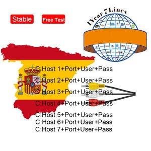 Best Stable Satellite Cccam Clines Spain Poland Portugal Receptor Europe Cccam Germany Decoder Europe 7 lines Gtmedia V8 NOVA V9(China)