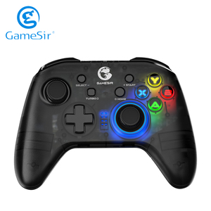 GameSir T4 Pro 2.4GHz Wireless Mobile Controller Bluetooth Gamepad with 6-axisGyro for NintendoSwitch / Android / iPhone / PC