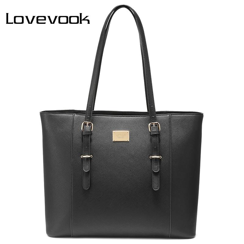 LOVEVOOK Handbag Women Large Tote Bags Ladies Shoulder Laptop Office Bags For Women 2018 Working Handbags School Travel Bag Big