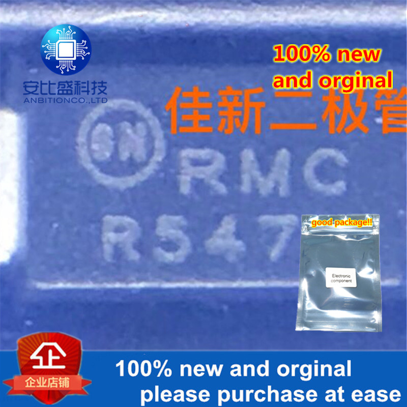 50pcs 100% New And Orginal 1SMA15CAT3G 15V DO214AC Silk-screen RMC Two-way TVS Protecting Tube In Stock
