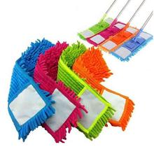 Microfiber Flat Mop Clean Refill Replacement Head For Vileda Easy Wring Mop Cleaning Pad Home Cleaning Tools Mop Accessories d2 vileda easy wring and clean turbo microfibre 2in1 replacement refill mop head accessory home cleaning tools