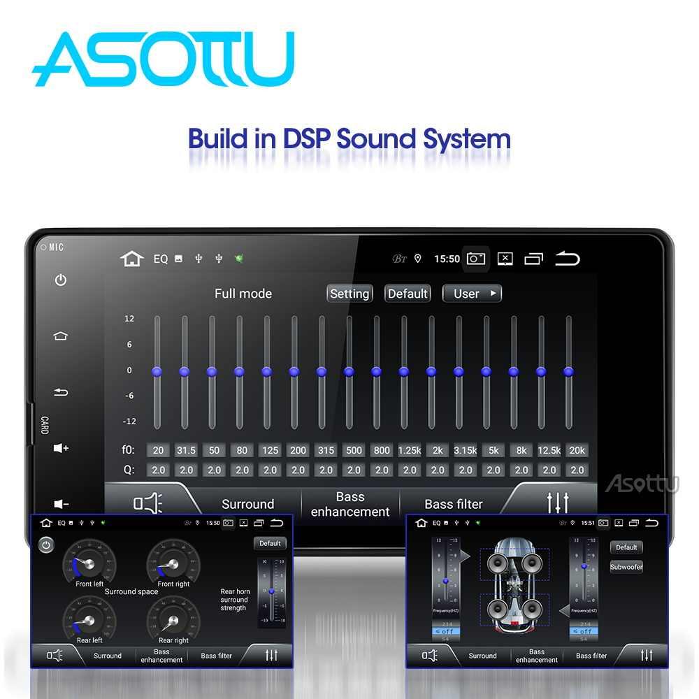 Asottu DSP PX30 Android 9,0 автомобильный dvd Радио Видео gps навигация для Mitsubishi outlander lancer asx 2012 2013 2014