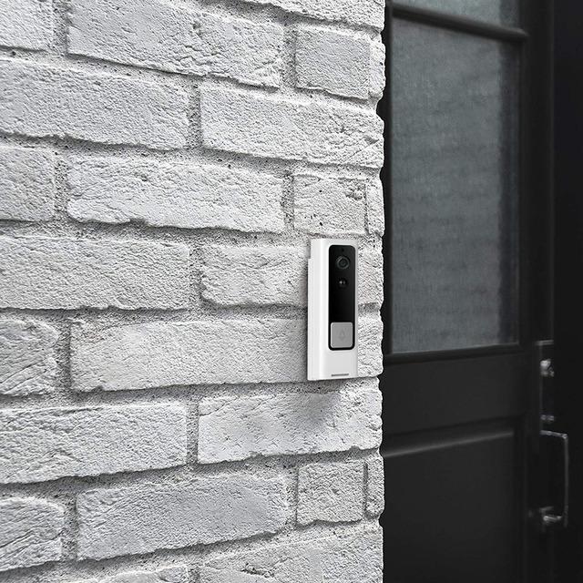 WiFi Smart Visual Intercom Tuya APP Remote for Alexa Echo Google Home Voice Control Smart Home Wireless Door Bell Home Monitor