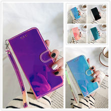 3D Mirror Leather Phone Case na For Samsung Galaxy A32 A02 A02S A52 A72 A12 A42 M02 M62 F62 M01 A01 Core Wallet Stand Flip Cover