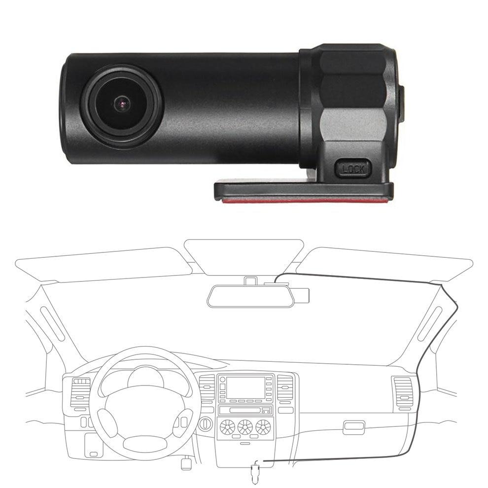 Car DVR Mobile-Display Recording G-Sensor Wide-Angle 140-Degree-View Full-Hd Loop Wi-Fi