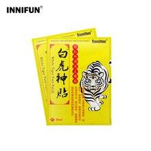 16 sztuk biały tygrys chiński Plaster medyczny Arthriti reumatoidalnego zapalenia stawów z powrotem na ramię środek przeciwbólowy opieki zdrowotnej Patch