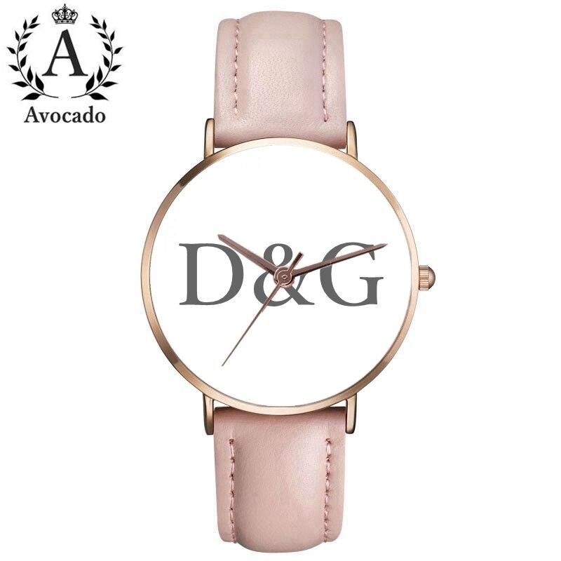 Top Brand Luxury Bear Women Quartz Watch Relogio Genuine Leather Dress Ladies Watches Kobiet Zegarka Reloj Mujer