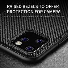 Carbon Fiber Texture Matte Case For iPhone 11 Pro Max XS Max XR X 8 7 Plus Soft Anti-knock Anti-fingerprint Cover Bumper Case