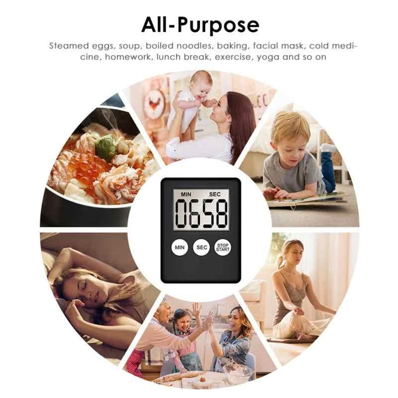 Lcd tela digital cozinha temporizador cozinha temporizador prático cozinhar temporizador alarme casa cozinhar prática ferramenta cozinha accessorie