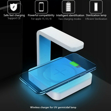 Sterilizer-Lamp Wireless Uv-Sanitizer-Charger Mobile-Phone for Fast-Charging Portable