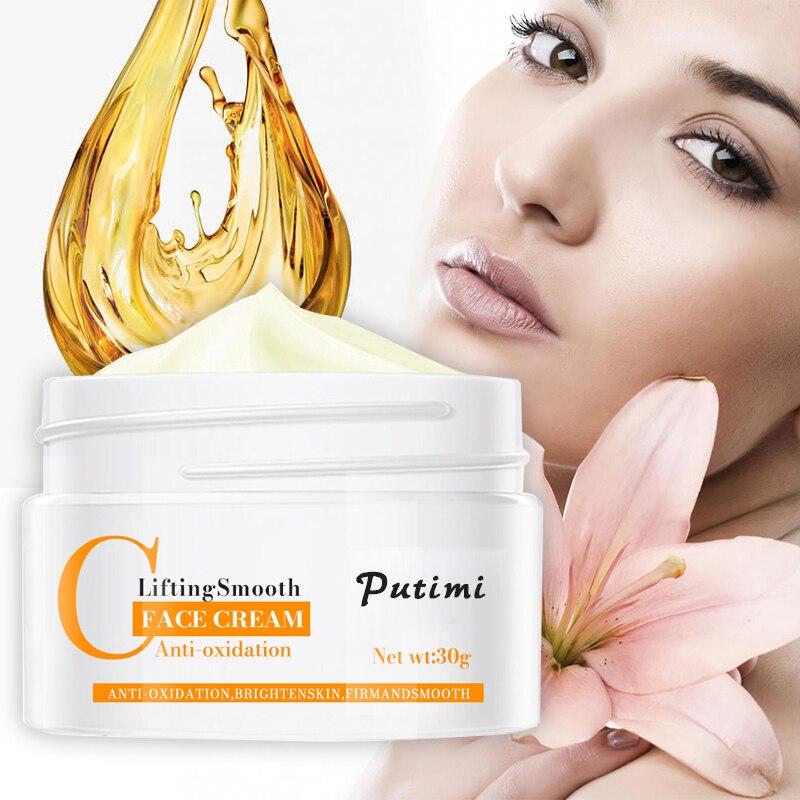 PUTIMI Anti-Oxidation Brighten Face Cream Hydrating Skin Face Lifting Firming Day Night Cream Anti Aging Anti Wrinkle Face Cream