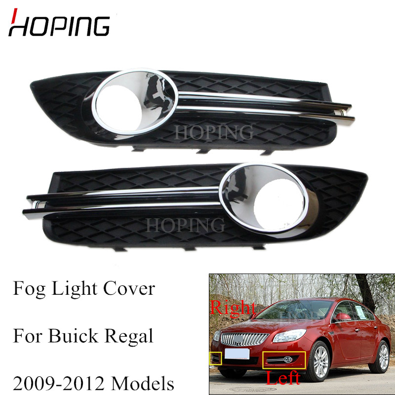 A Pair front Bumper fog lamp light case For 2010-2015 Cadillac SRX