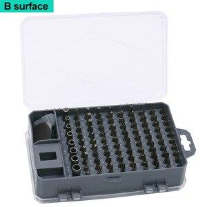Image 5 - 112 w 1 zestaw wkrętaków Mini elektryczny wkrętak precyzyjny nadaje się do telefonu tablet z funkcją telefonu PC narzędzia gospodarstwa domowego zestaw
