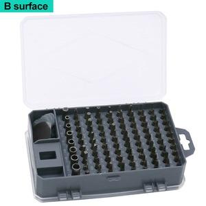 Image 5 - Juego de destornilladores 112 en 1, Mini destornillador eléctrico de la precisión adecuado para teléfono móvil, tableta, PC, utensilio doméstico