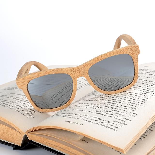 BOBO BIRD Wood Sunglasses Women Men Polarized Sun Glasses Ladies UV400 Eyewear Arm in Gift box Dropshipping