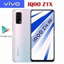 Oficial novo original iqoo z1x 5g telefone móvel snapdragon 765g 5000mah bateria 33w traço carga 48.0mp câmera 120hz tela de corrida