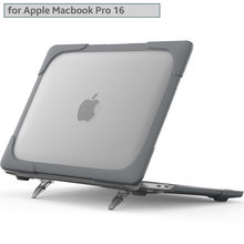 Ударопрочный складной чехол для apple macbook pro 16 дюймов