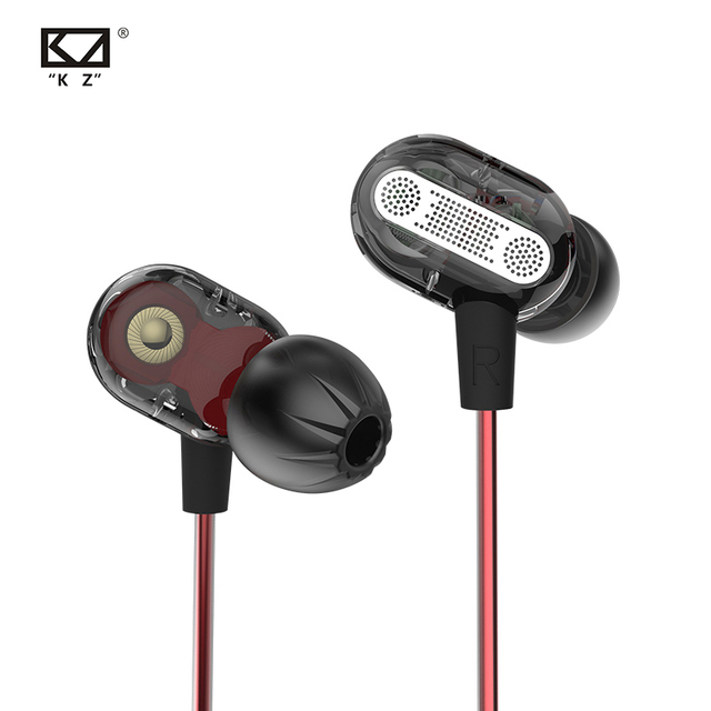 KZ ZSE في الأذن سماعة الألعاب الصوت شاشات Hifi الموسيقى سماعات خاصة ديناميكية محرك ثنائي سماعات الرياضة الأزرق سماعات
