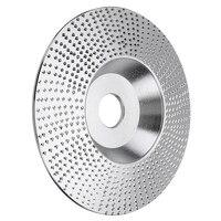 4 Polegada madeira roda de moagem disco rotativo lixar ferramenta escultura em madeira abrasivo ferramentas disco para moedor ângulo|Esmeril| |  -