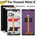 100% נבדק 6.0 ''Huawei Mate 8 LCD תצוגה + מסך מגע Digitizer עצרת עם מסגרת עבור Huawei Mate8 חילוף חלקים + כלים