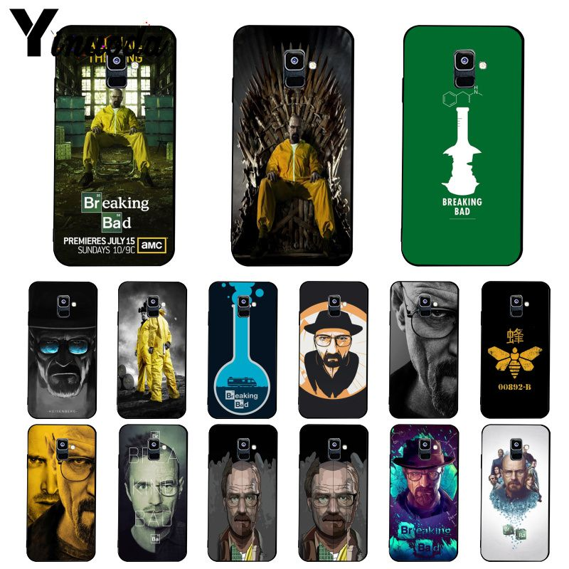 Yinuoda Breaking Bad Chemistry Walter <font><b>Phone</b></font> <font><b>Case</b></font> For <font><b>Samsung</b></font> <font><b>Galaxy</b></font> A7 A50 A70 A20 A30 <font><b>A40</b></font> A8 A6Plus A8Plus A9 2018 image