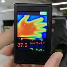 HY-18 MLX90640 Мини Инфракрасный термокамера ручной термограф Инфракрасный Тепловизор цифровой термометр