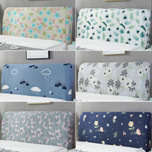Headboard-Cover Bedroom-Decor Dustproof-Bed Printed Back-Protection All-Inclusive Elastic