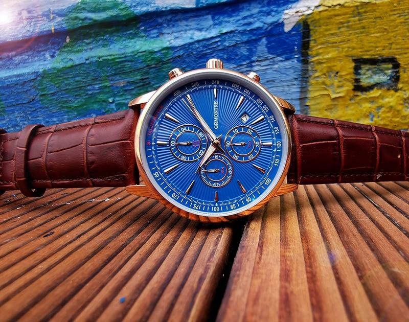 H166caeb92e2544cfb6fd650a65f295a0P Watch Chronograph Army Military Quartz Watches GRMONTRE