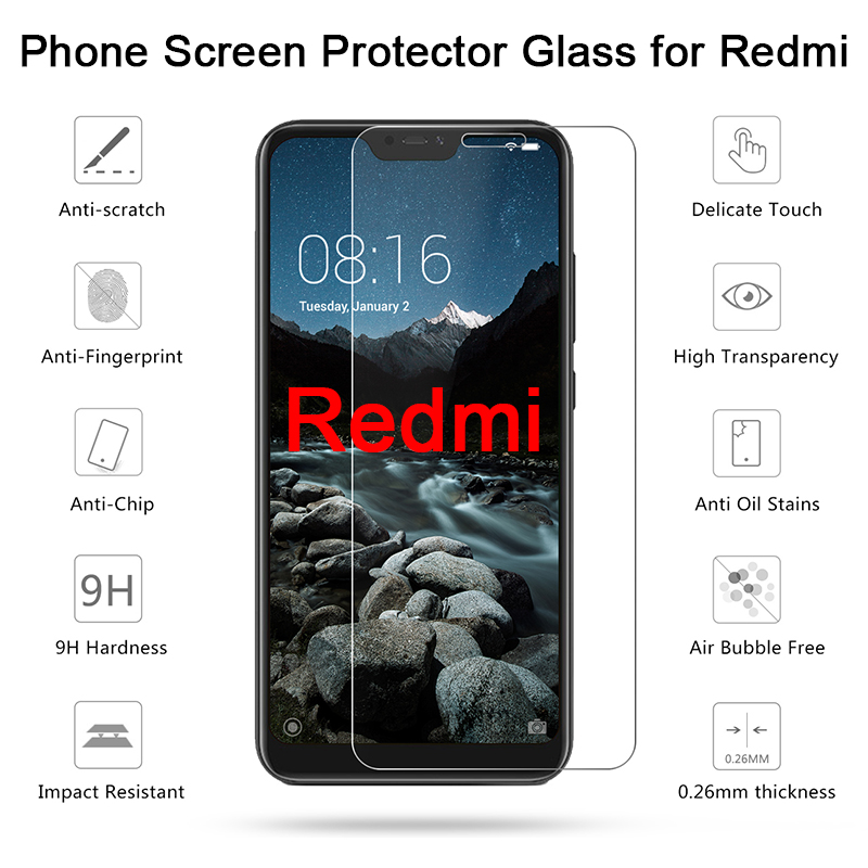 Xiaomi Redmi 5 Plus Phone Protective Glass For Redmi 3 Pro 3X 3S Tempered Glass Screen Protector Film For Redmi 4X 4A 5A S2 4