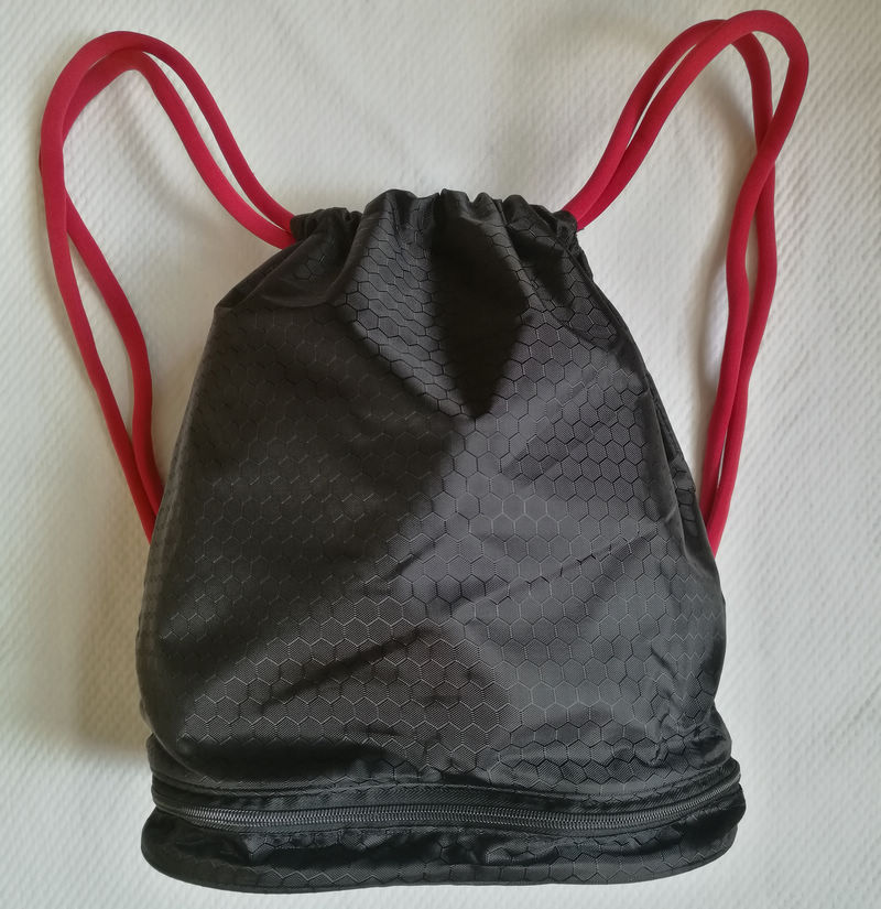 Drawstring Gym Sack,  Summer Travel Yoga Rope Backpack, Beach Swimming Surfing Bag